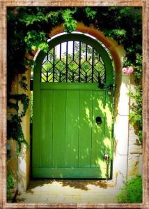 Go Green Door